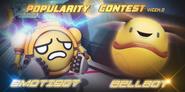 Popularity Contest - EmotiBot and BellBot