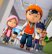 Team BoBoiBoy with Fang