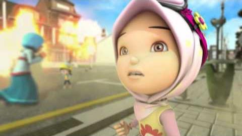 BoBoiBoy Serangan Lima Panglima Scanner Di Bumi