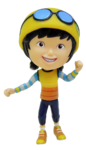 BoBoiBoy Action Figures Ying