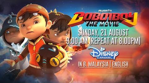 BoBoiBoy The Movie English Dub Teaser @ Disney Channel Asia