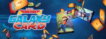 BoBoiBoy Galaxy Card