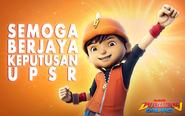 BoBoiBoy Keputusan UPSR
