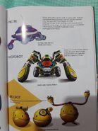 Probe Motobot Bellbot Concept Arts