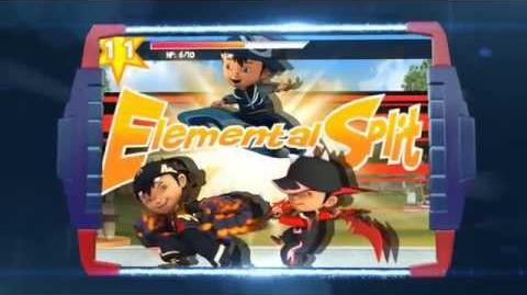 BoBoiBoy Ejo Jo Attacks Gameplay