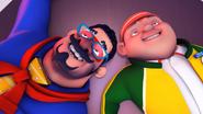 Papa Zola & Gopal fainted