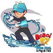BoBoiBoy Water Concept Art