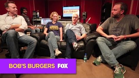 BOB'S BURGERS Behind BOB'S BURGERS LIVE - Episode 3 ANIMATION on FOX