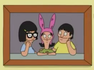 Tina, Gene, and Louise