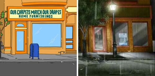 Bobs-Burgers-Wiki Archer Store-Next-Door Split-comparison 01