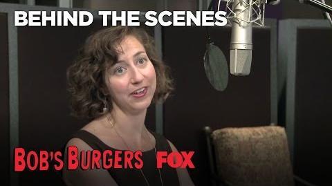 In The Recording Booth With Bob's Burgers Season 3 BOB'S BURGERS