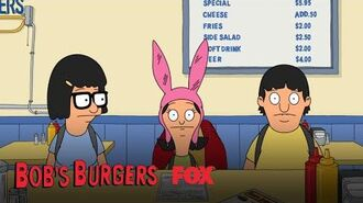 Louise Is Excited About Feeding Sharks Season 10 Ep. 20 BOB'S BURGERS