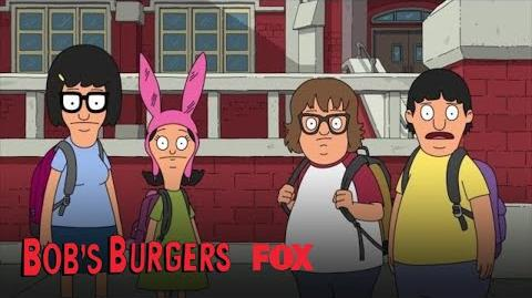 Doug Asks Gene If He'll Skate With Courtney Season 9 Ep. 8 BOB'S BURGERS