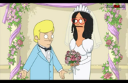 Hugo and Linda Marriage in Sliding Bobs