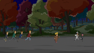 S3E02.06 The Belcher Trio Running Away from the Teenagers