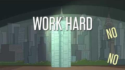 Work Hard or Die Trying Girl