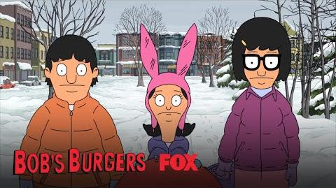 The Kids Are Attacked By Snowballs Season 9 Ep. 10 BOB'S BURGERS