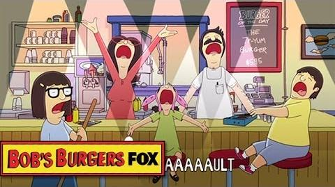 """Move To SUN 7 6c """"It's Not Our Fault"""" BOB'S BURGERS ANIMATION on FOX"""