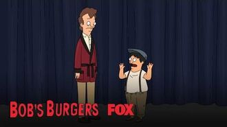 Gene Shows Up For Dress Rehearsal Season 10 Ep. 9 BOB'S BURGERS