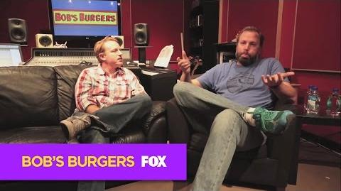 "BOB'S BURGERS Behind the Scenes of ""Late Afternoon in the Garden of Bob and Louise"""