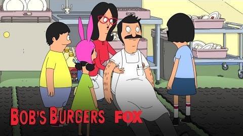 The Belchers Try To Stop Bob's Bleeding Season 3 Ep