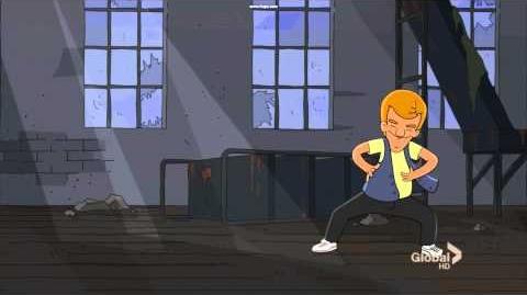 Jimmy Junior Dancing