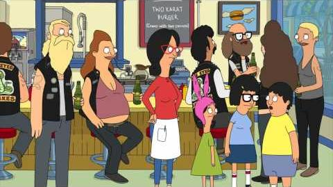 BOBS BURGERS TRAILER - EARSY RIDER