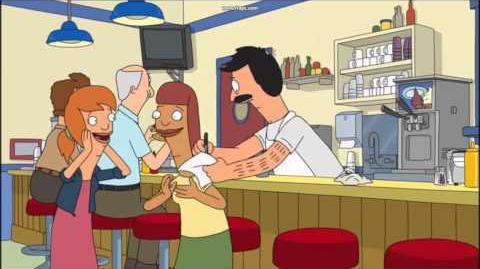 Bob's Burgers - Autogramm von Beefsquatch
