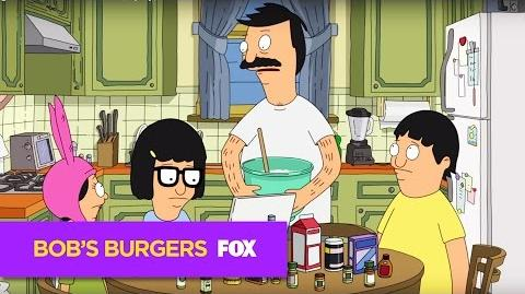 "BOB'S BURGERS Shining Like A Sandwich from ""Eat, Spray, Linda"" ANIMATION on FOX"