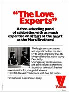 The Love Experts 1978 ad