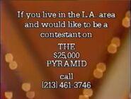 $25,000 Pyramid Ticket Plug