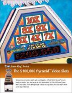 $100,000 Pyramid Video Slots P1