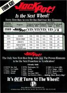 Jackpot! '89 ad
