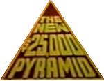 The New $25,000 Pyramid Logo b