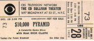 The $10,000 Pyramid (December 28, 1973)