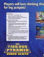 $100,000 Pyramid Video Slots P2