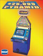$25,000 Pyramid Video Slots P1