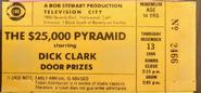 The $25,000 Pyramid (December 13, 1984)