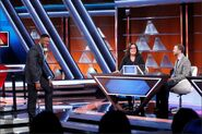 $100000Pyramid Michael Strahan Rosie O'Donnell Ben Stango