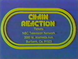 Chain Reaction Ticket Plug