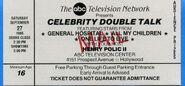 CelebrityDoubleTalkTicket