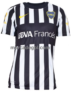 Camiseta de Boca verano 2012