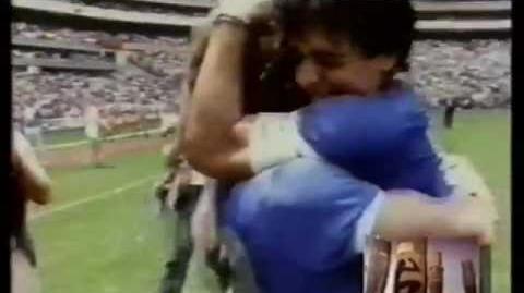 Argentina 2 vs Inglaterra 1 - Mundial México ´86 (Relatos Víctor Hugo Morales)