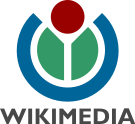 Wikimedia logo text RGB