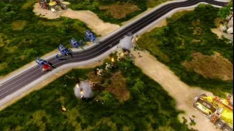 Command & Conquer Red Alert 3 Gameplay from EA