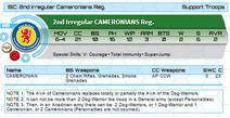 Cameronian stats