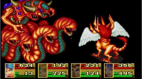 Breath Of Fire GBA Final Boss (Good Ending)