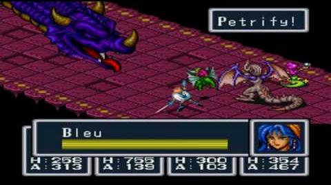 Breath of Fire (SNES) - Boss Zog