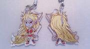 Devil Katt Key-chain