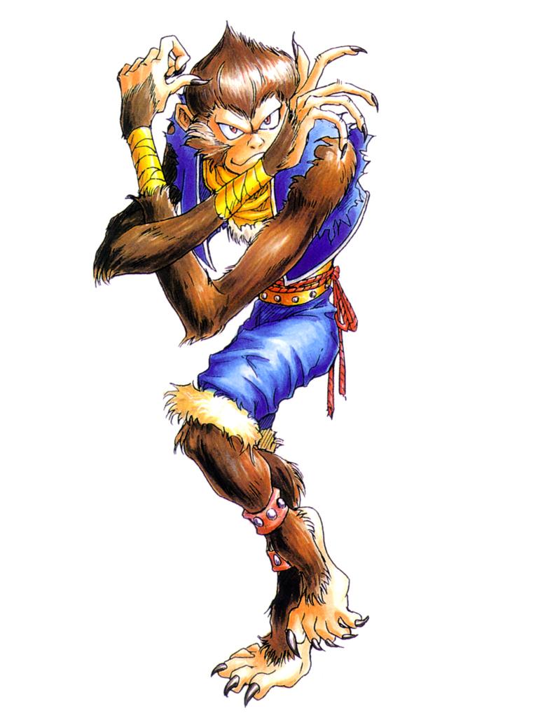 猿キャラクターステン